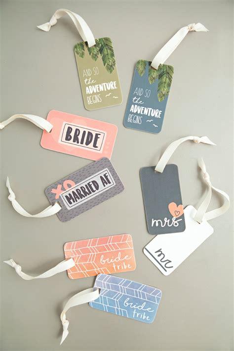 printable luggage tags wedding free printable diy wedding luggage tags using shrinky dink