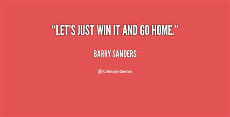 barry sanders inspirational quotes quotesgram