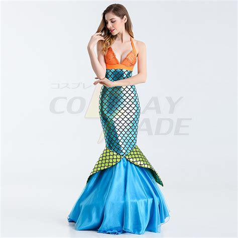 Mermaid Skirt Blue mermaid womens blue bodycon skirt costume