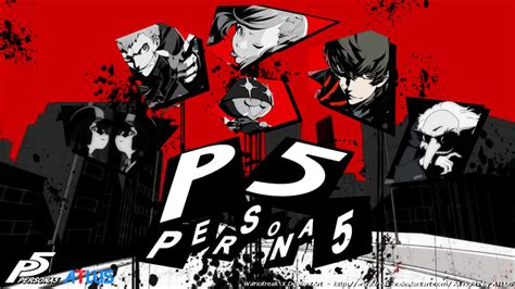 Persona 5   Wallpaper 03 by Wariofreak X on DeviantArt