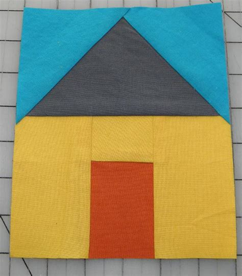 house pattern 8 free paper pieced quilt block patterns