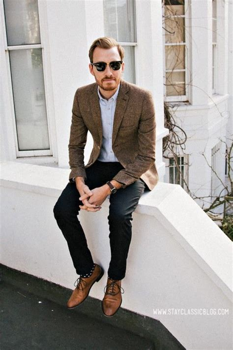 what to wear with light brown boots how men dress casual for fall 8 men smart casual fall