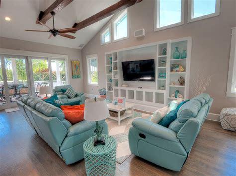 house tv room aqua cove anna maria island florida