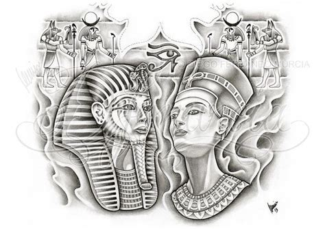 tattoo pen in egypt egyptian back piece by dfmurcia deviantart com on