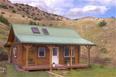 Rental Cabins In Montana by Montana Cabin Rental Exterior Cabin Views