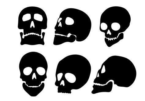 silhouette vector skull silhouette vectors download free vector art stock