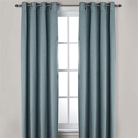 bed bath and beyond grommet curtains ashton grommet top room darkening window curtain panel
