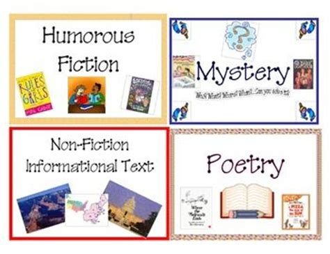 printable genre labels for classroom library pin by alexandria sun on education pinterest