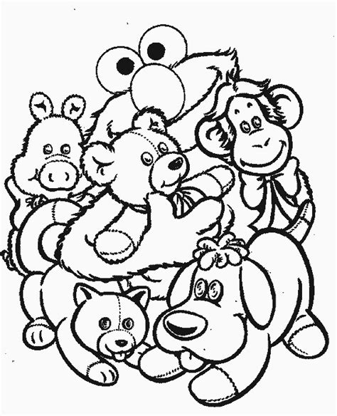 stuffed bunny coloring page coloriage jouets 224 colorier allofamille