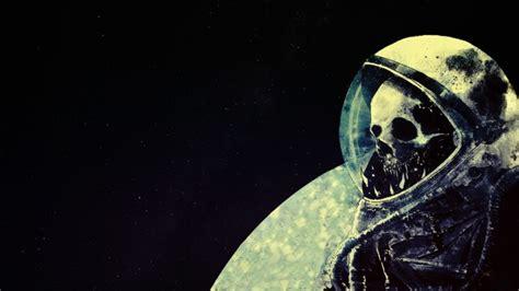 Skull Space astronaut space skull space artwork helmet