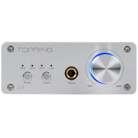 Topping D3 topping d3 usb dac cs4398 with headphone lifier