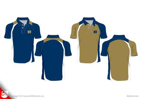 design polo shirt vector athletic apparel graphic design by eric feld at coroflot com