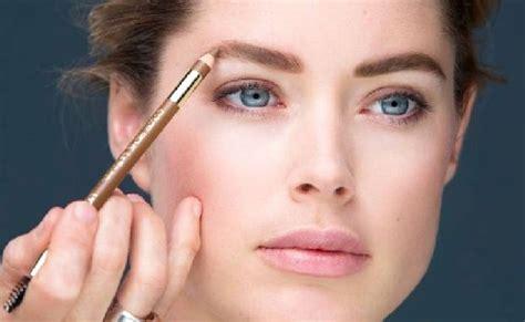 cara membentuk alis wajah persegi til cantik dengan cara make up wajah sendiri