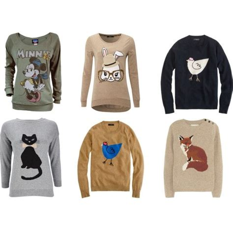 more animal sweaters for when i go shopping next weekend