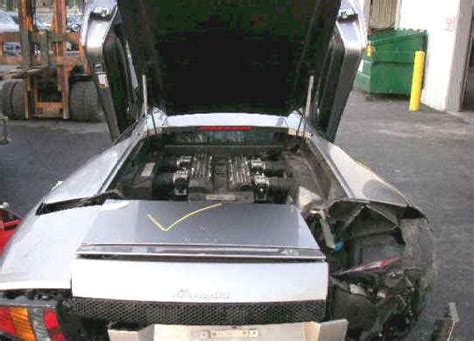Water Damaged Lamborghini For Sale Wrecked Lamborghini For Sale Murcielago For Sale 35 000