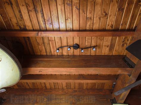 Putting Wood On Ceiling by Design Ideas Ceilings On Faux Wood Beams