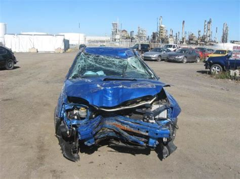 crashed subaru wrx crashed subaru wrx sedan turned into honda civic 3 door by