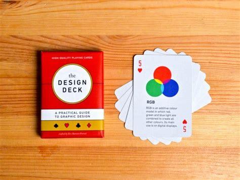 Graphic Design Card Deck