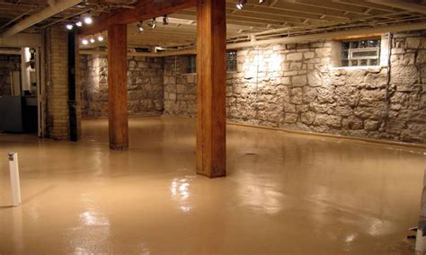 rustic colors for walls concrete basement floor paint