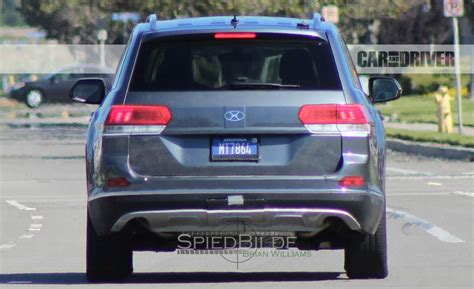 volkswagen suv 3 rows 2018 volkswagen three row suv spy photos and news