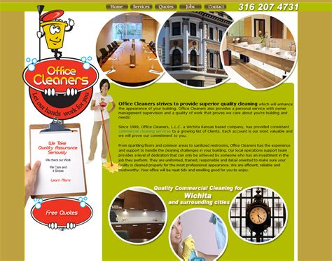 sample flyers for marketing cleaning company website janitorial web site designing