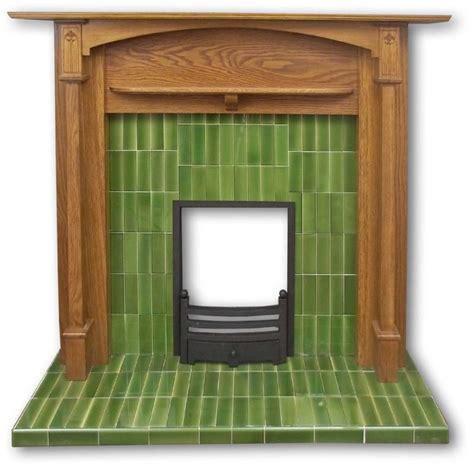 1920s fireplace tiles voysey tiled fireplace insert twentieth century fireplaces