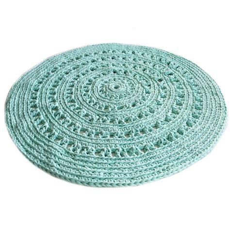 mint green vloerkleed rond gebreid vloerkleed sanfates cut carpet rond gehaakt