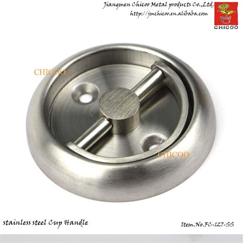 Stainless Steel Cup Drawer Pulls by Stainless Steel Cup Ring Handle Invisible Handle Recessed