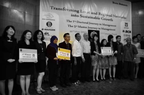 Mba Itb Bandung by Buzzer Team Mba Itb Menjuarai The 5th Master Journey In