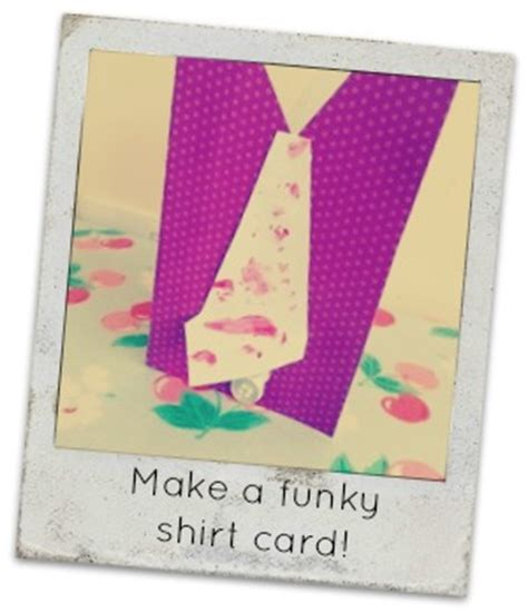 make your own fathers day card make your own funky shirt card for this fathers day