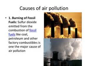 Cause And Effect Essay About Pollution by Causes And Effects Of Air Pollution