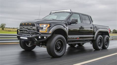 Ford F 150 Velociraptor by 2018 Ford F 150 Velociraptor 6x6 By Hennessey Performance