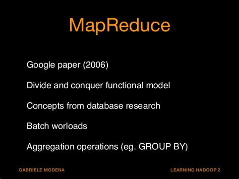 mapreduce research paper stack analytics with hadoop 2