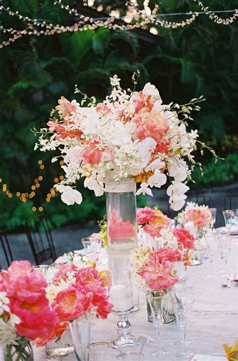 lovely summer wedding centerpiece ideas  amaze
