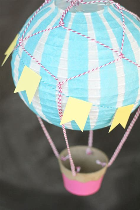 Handmade Air Balloon Decorations - diy air balloon decoration wes decor