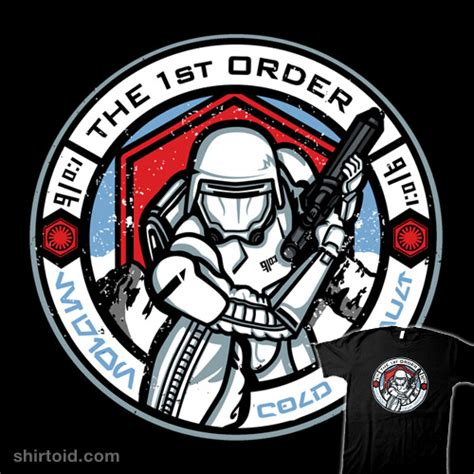 the first order cold assault shirtoid