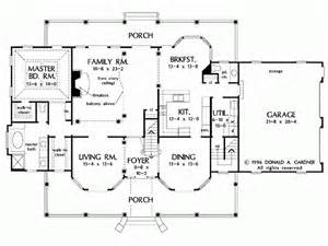 Farm House Floor Plans Eplans Farmhouse House Plan Just The Right Amount 3163