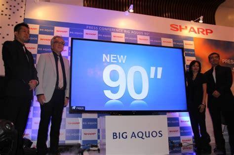 Tv Sharp Layar Cembung ambisi sharp menjadi market leader tv layar lebar di