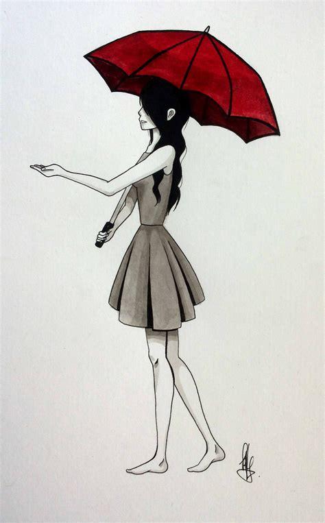 the red umbrella by kyraaah on deviantart