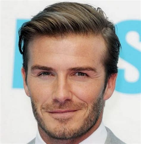 mens hairstyles pulled forward 2017 david beckham s casual and timeless pulled back front