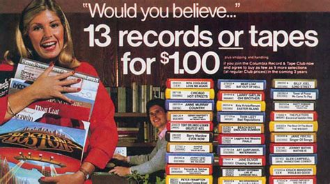 The Columbia House Record Club May Be Returning On Vinyl