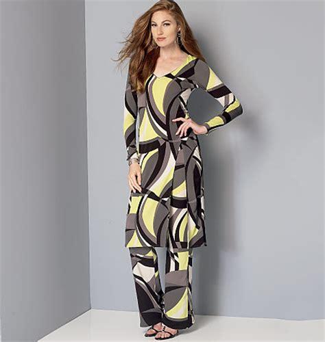 vogue patterns 9305 misses tunic and pants vogue patterns 9159 misses tunic and pants sewing pattern