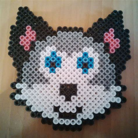 melty bead designs wolf hama perler bead design by karla jade 2015 on deviantart