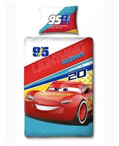 Duvet 4 5 Tog Disney Cars 3 Lightning Mcqueen Single Duvet Bedding