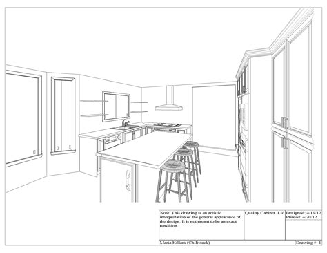 How To Draw A Dining Room by Quality Cabinets S New White Kitchen Killam