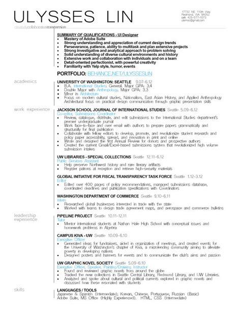 ux designer cover letter ui designer resume exle resumes resume