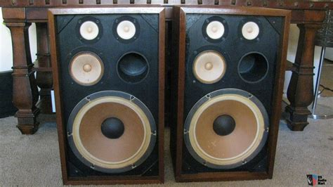 vintage kenwood kl 4080 large bookshelf speakers