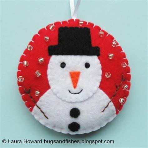 decorar bolas de navidad con fieltro 8 decoraciones de fieltro para el 225 rbol de navidad
