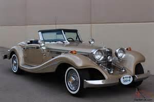 Mercedes 540k For Sale 1934 Mercedes 500k 540k Excalibur Auburn Style