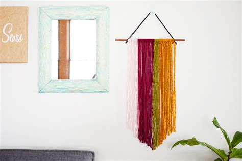 String Wall Decor - diy string wall